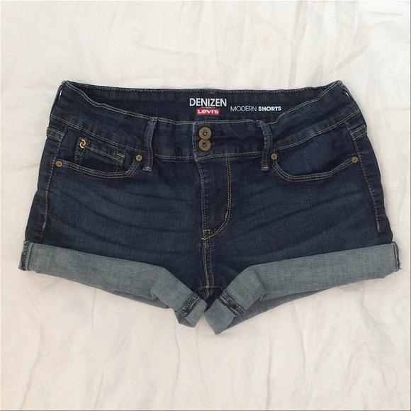 70ffb9c4 Levi's Shorts | Denizen From Levis Cuffed Jean | Poshmark